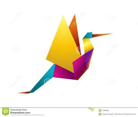 stork origami stock photo vibrant colors origami stork image 15228600