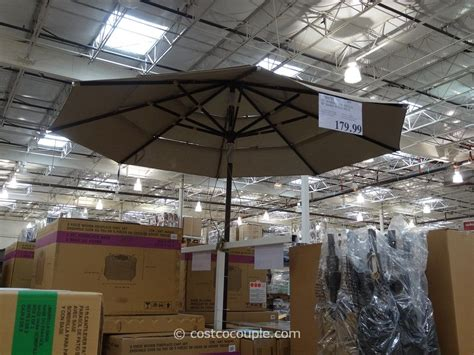 costco patio umbrellas 11 ft market umbrella