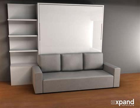 wall beds with sofa murphysofa king size murphy bed with sofa expand