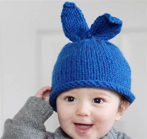 how to knit a bunny hat baby bunny rabbit hat knitting pattern michele