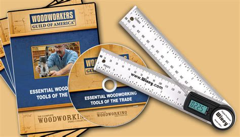 woodworking dvds tools of the trade 4 dvd set free wixey product wwgoa