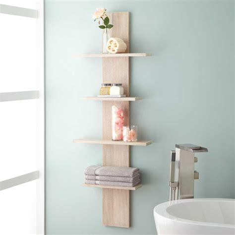 shelves for bathroom wulan hanging bathroom shelf four shelves bathroom