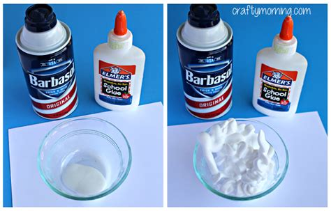 glue crafts for patricks day mint chip paint