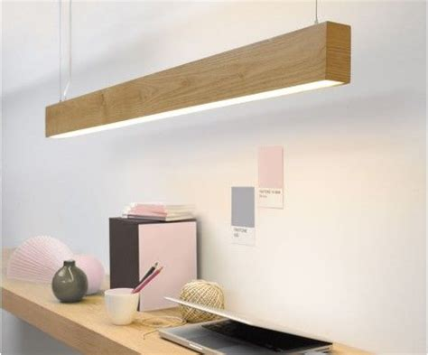 kitchen bench lighting narrow teak wood pendant light great for a study