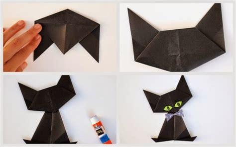 origami cat how to origami black cat pink stripey socks