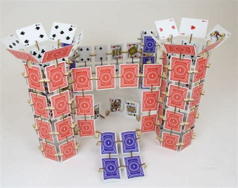 how to make a house of cards getdatgadget infinite with skallops and a deck of cards
