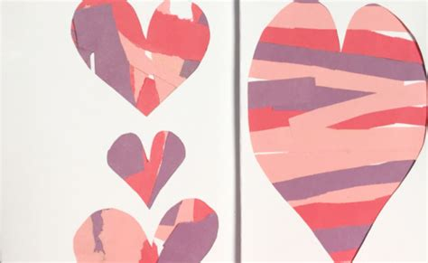 construction paper valentines day crafts s crafts for archives twitchetts