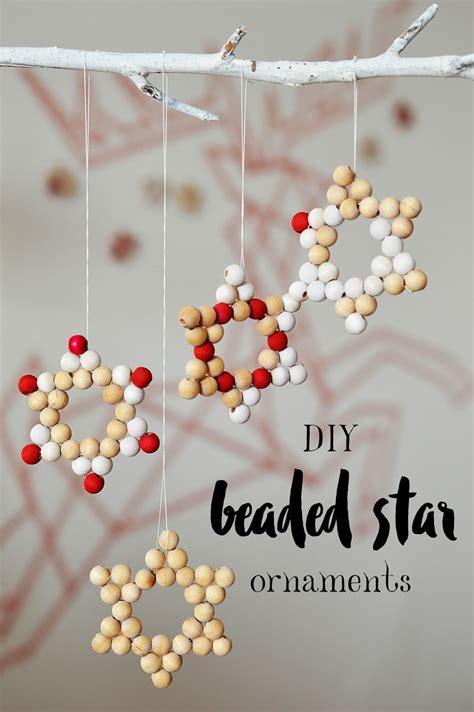 diy beaded ornaments tis the season diy beaded ornaments motte