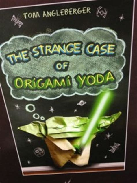 the origami yoda series the strange of origami yoda