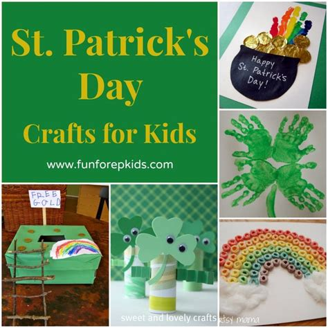 st patricks crafts for st s day crafts teaching