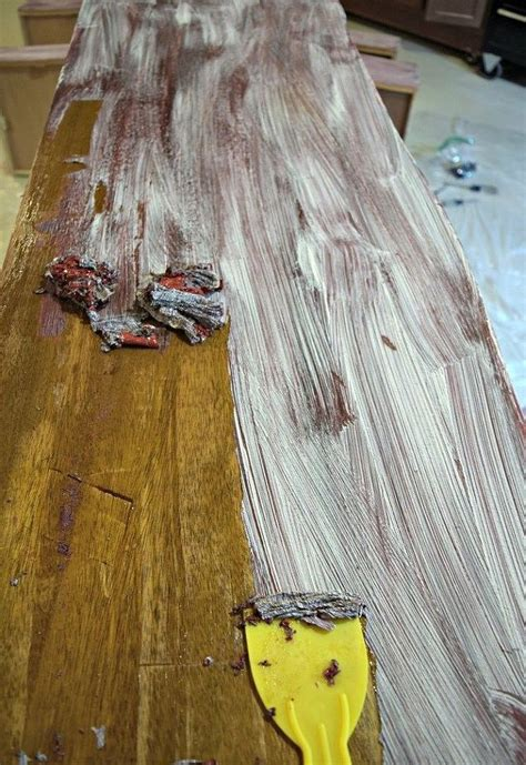 how to remove paint from woodwork how to easily remove paint varnish from furniture