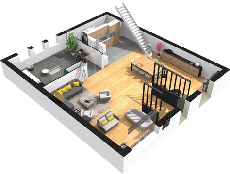 3d plans free software to design and furnish your 3d floor plan
