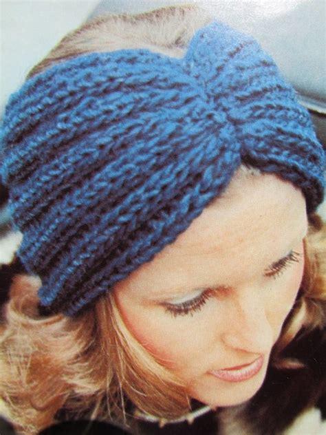 knitting headband pattern knit headband ear warmer patterns a knitting