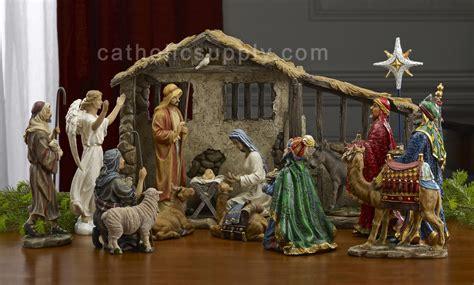 manger set nativity sets 100
