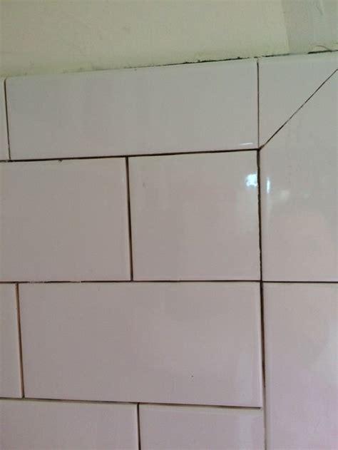 How To Put Up Tile Backsplash In Kitchen bullnose corners subway tile