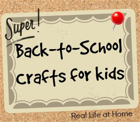 easy back to school crafts for back to school crafts for