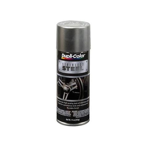 spray paint stainless steel dupli color 174 ss100 11 oz stainless steel spray