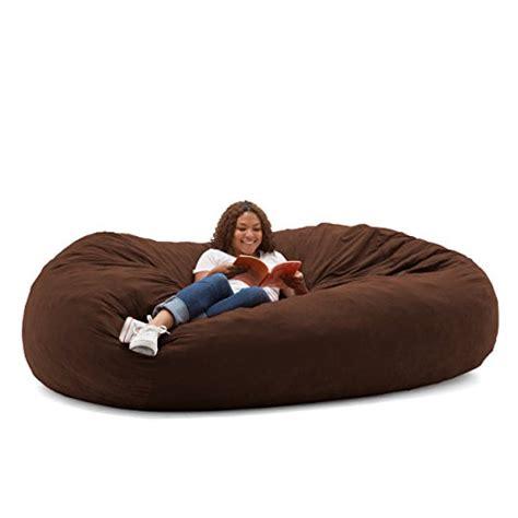 foam filled bean bag chair big joe fuf foam filled bean bag chair comfort suede