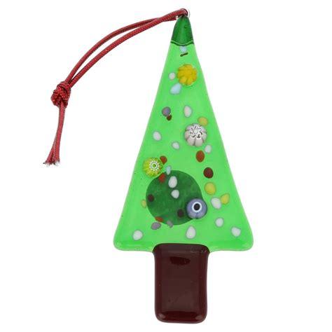 tree glass ornaments tree ornaments murano glass tree