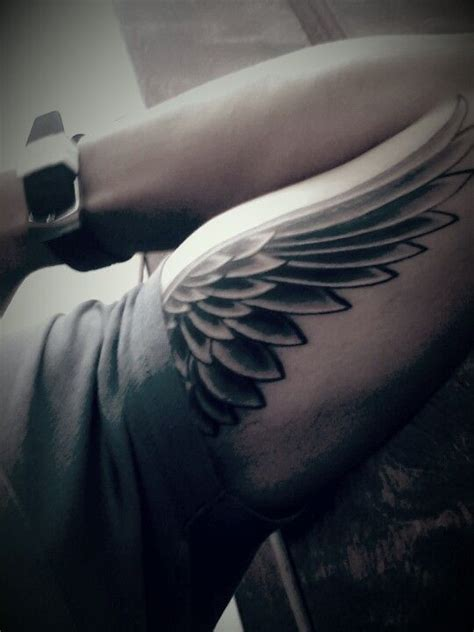 best 25 wing tattoo arm ideas on pinterest