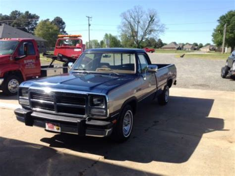 how cars engines work 1992 dodge d150 club navigation system purchase used 1992 dodge d150 le standard cab pickup 2 door 5 2l in searcy arkansas united