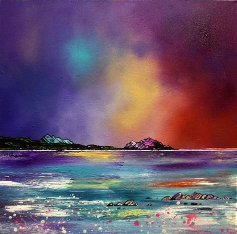 spray painter dundee scottish landscape paintings prints commissioned