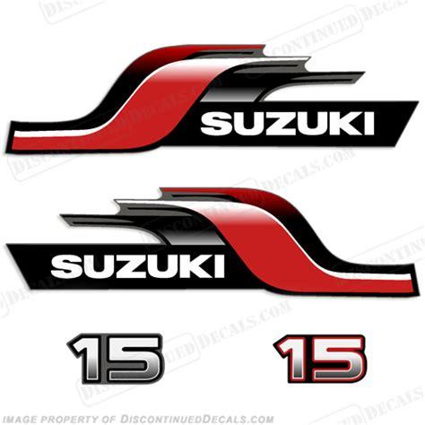 Suzuki Decals by Suzuki Decal Kits