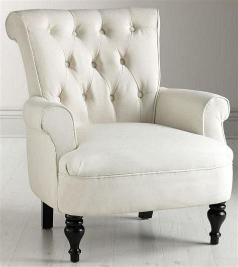 White Armchair by 10 Soft White Bedroom Armchair Designs Rilane