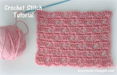 crochet tutorial lacy crochet crochet stitch tutorial
