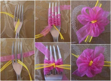 ribbon projects crafts diy ribbon flowers fashionornaments