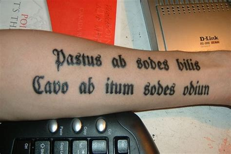 30 most popular tattoo quotes in latin best tattoo 2015