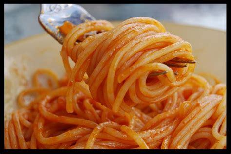 recette des pates 224 la sauce tomate