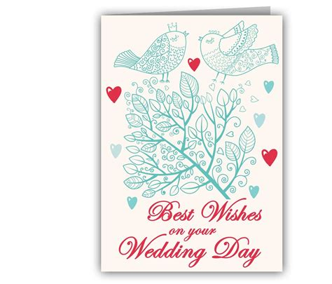 greeting cards romancing birds wedding greeting card giftsmate