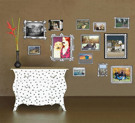 photo frames wall stickers by the binary box