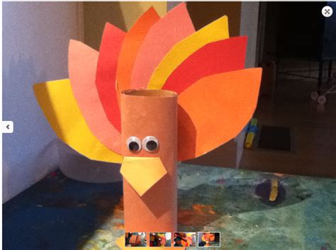 turkey toilet paper roll craft thanksgiving 2013 1 3 crafts and decorations the