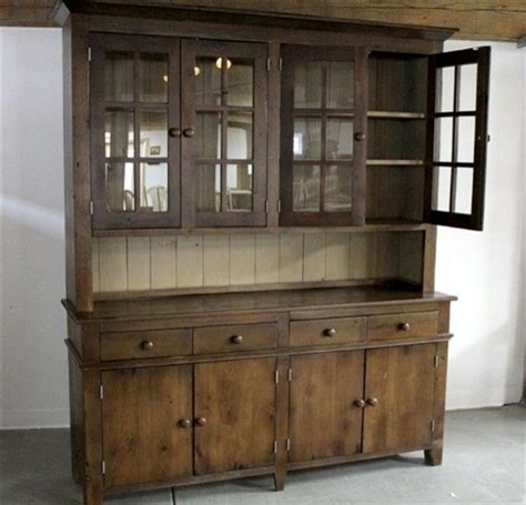 rustic china cabinet rustic 4 door pine hutch white interior rustic china cabinets and hutches boston by