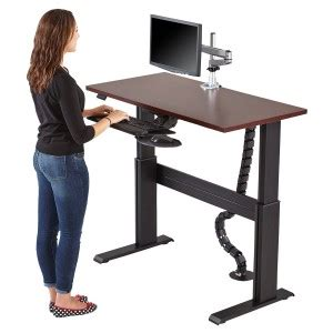 desks to stand at sit stand desk houston tx