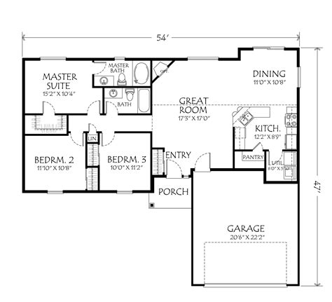 floor plans for homes one story single story house plans one story home and house plans at eplanscom 1 story houses two