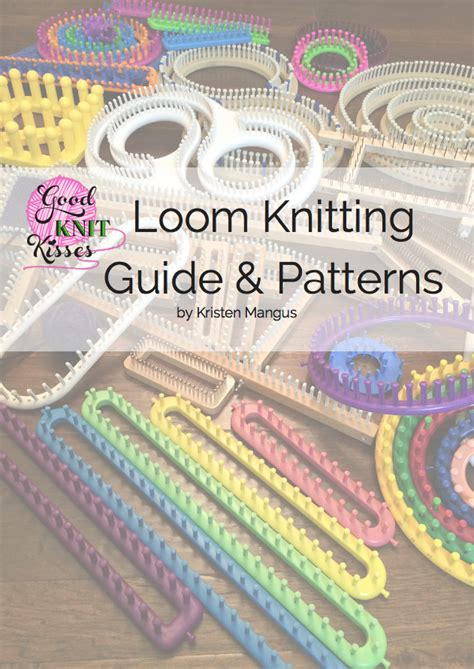 books on knitting for beginners loom knitting book paperback goodknit kisses