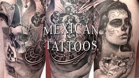 mexican tattoos youtube