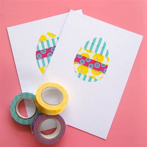 card ideas for easter diy easter card ideas to make at home
