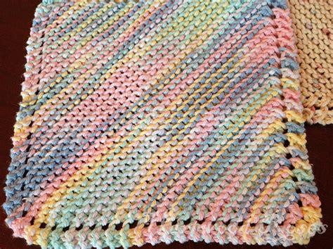 how to knit dishcloths hartwood roses feeling crafty knitting dishcloths