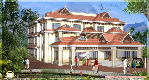 house models and plans 5 kerala style house 3d models kerala home design and floor plans