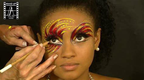 wajah karnaval carnival make up atelier