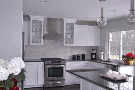 white kitchen cabinets gray granite countertops white kitchen cabinets with gray granite countertops grey