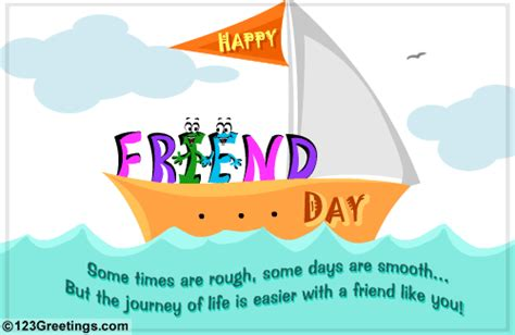 friendship day card free greetings cards animated friendship day