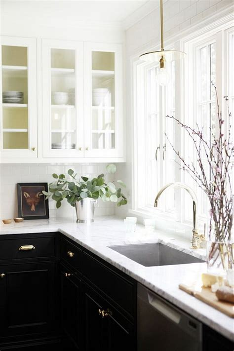 two colour kitchen cabinets stylish two tone kitchen cabinets for your inspiration