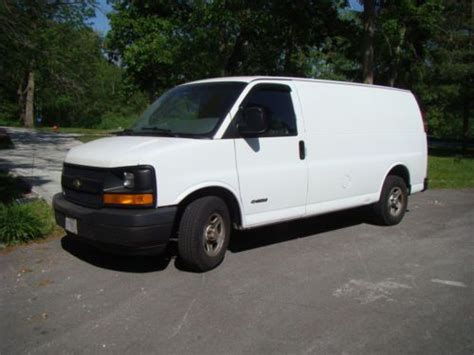 purchase used 2003 chevy express van 2500 new transmission in merrillville indiana united