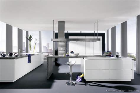 modern black and white kitchen designs pictures of kitchens modern white kitchen cabinets