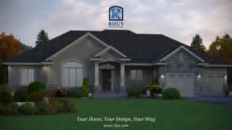 Raised Cottage House Plans custom home house plans house plans patio home bungalow
